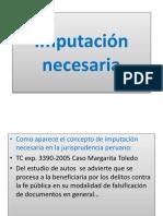 Diapositiva Imputacion Necesaria MP