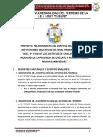 Informe de Vulneravilidad I.E.nº 10037 MONSEFU