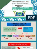 Evaluación de Proyectos Ambientales