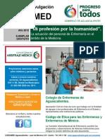 Información Colegio de Enfermeras