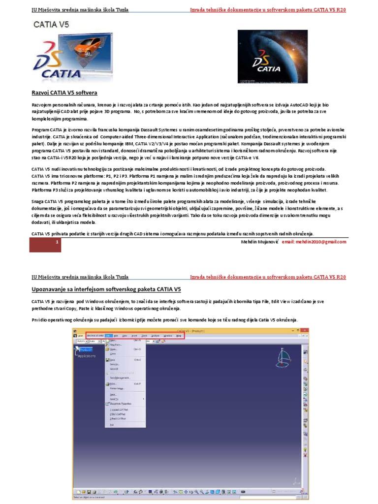 Izrada-tehnicke-dokumentacije-u-programskom-paketu-CATIA-V5