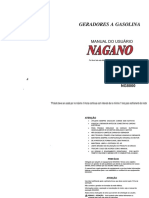 Manual Geradores a Gasolina