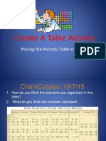 create a table activity 16 to 17