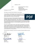 Governors Letter Regarding Graham-Cassidy Bill