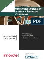 Proyectos Multidisciplinarios en Bioinformática y Sistemas Complejos