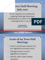 July 2017 Town Hall PPT