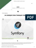 30 Consejos Para Trabajar Con Symfony _ Solucionex