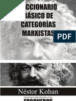 Diccionario básico de categorías marxistas - Nestor Kohan