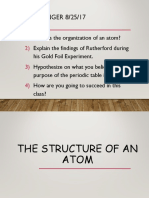 structure of atom   periodic table trends