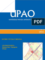 6. Sistema Vial y Transporte Urbano