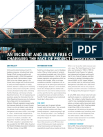 Article an Incident and Injury Free Culture Changing the Face of Project Operations Terra117 2