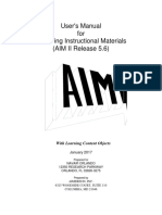 AIM II User Manual