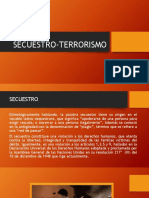 SECUESTRO-TERRORISMO