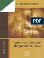 Scrieri vechi pierdute atingătoare de Dacia (Al.Papadopol-Calimah).pdf