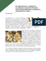 Xxi Medicamentos de La Medicina Tradicional Mexicana