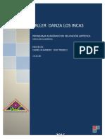 Taller Danza Los Incas (1)