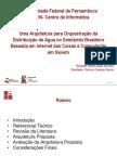 Uma Arquitetura para Orquestração da Distribuição de Água no Semiárido Brasileiro Baseada em Internet das Coisas e Computação em Nuvem (Apresentação)