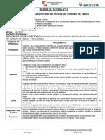SESIÓN DE TUTORÍA DEVIDA 5° SECUNDARIA.doc