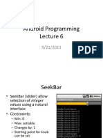 Android Lecture6