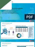 MINEDU - Política de atención de estudiantes con necesidades específicas.