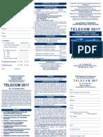 Telecom 2017 Invitation