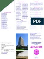 2018 Siela Call