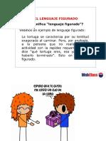PPt con ejemplos de lenguaje figurado