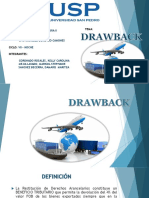 Diapositiva Drawback Para Exposicion