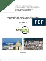 VolI.Declaración de Impacto Ambiental 2007  Gasoducto del Sur