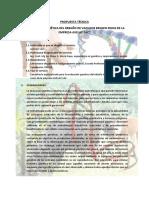 Propuesta Tecnica Para La Evaluacion Genetica de Vacunos