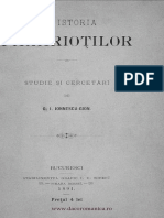 Ionescu Sion - Din Istoria Fanariotilor