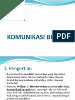 Kd 1. Bab 1 Komunikasi Bisnis Klas x Pm