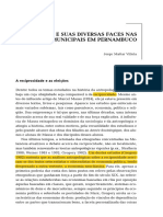 O Dinheiro e suas Diversas Faces nas Eleições Municipais em PErnambuco