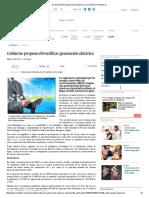Diversificación de Generación Eléctrica en Colombia _ Portafolio