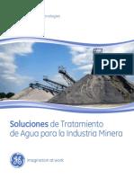 Tratamiento de aguas en minas