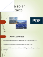 Solar Fotovoltaica