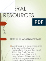 mineral resources reporting in science.ppt