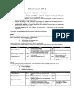 Evaluación Docente 2017 - 2