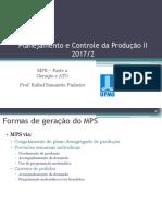 Aula 02 - MPS - Parte 2