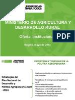MinAgricultura_Oferta_Institucional.ppt