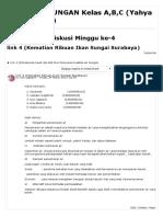 ILing_ Link 4 (Kematian Ribuan Ikan Sungai Surabaya)
