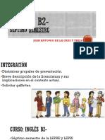Encuadre Del Curso Inglés B2