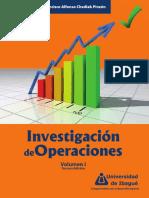 Investigacion de Operaciones. Volumen I (3a. Ed.)
