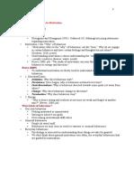 Motivation and Emotion Summary Notes