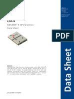 Lea 4x Data Sheet(Gps.g4 Ms4 06143)