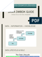 #1 DMBOK - Functional Review