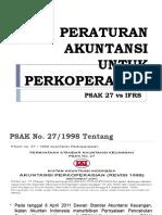 PSAK 27 vs SAK ETAP