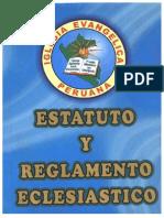 Reglamento Eclesiástico 2006 y Estatuto 2004 - Modif