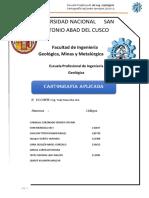 EVALUACION GEOTÉCNICA PARA LA ZONIFICACION DEL SECTOR URBANO RURAL DE PATAPATA, SAN JERONIMO EN EL PERIODO 2016 - 2017