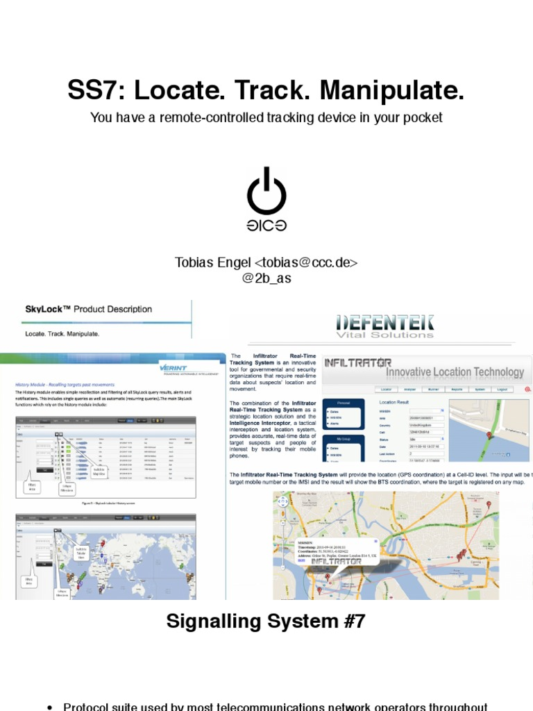 31c3-ss7-locate-track-manipulate pdf | Telecommunications Standards